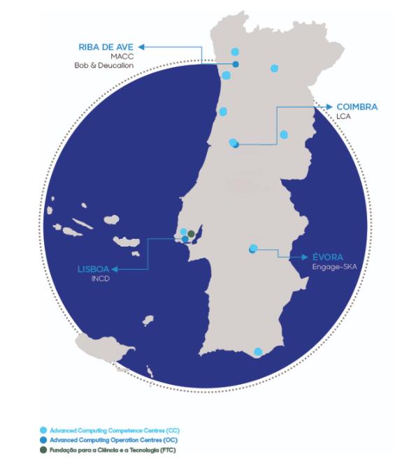 mapa rnca2021 FCCN Unidade de Computação